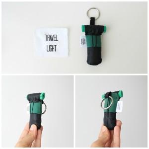 Mini Backpack - green and black