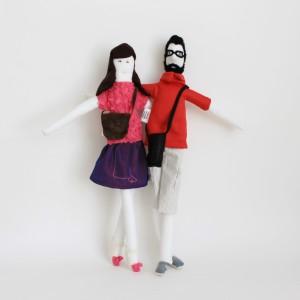 Wedding gift - Mini Marta and Paulo