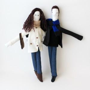 Wedding gift - Mini Giorgia and Luigi