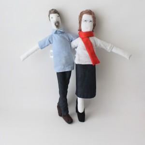 Mini José and Helena
