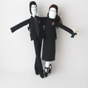 Wedding gift - Mini Sammy and Rachel